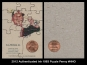 2012 Authenticated Ink 1983 Puzzle Penny #NNO
