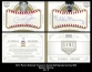 2012 Panini National Treasures Game Ball Signatures Dual #25