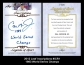 2012 Leaf Inscriptions #ICR1 1983 World Series Champs