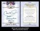 2012 Leaf Inscriptions #ICR1 2632 Consecutive Games