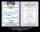 2012 Leaf Inscriptions Silver Foil #ICR1 1983 World Series Champs