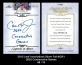 2012 Leaf Inscriptions Silver Foil #ICR1 2632 Consecutive Games