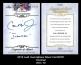 2012 Leaf Inscriptions Silver Foil #ICR1 Ironman