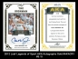 2012 Leaf Legends of Sport AKA Autographs Gold #AKACR1