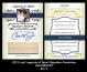 2012 Leaf Legends of Sport Signature Swatches Gold #SSCR1