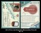 2012 Prime Cuts Biography Memorabilia Prime #2