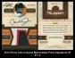 2012 Prime Cuts Colossal Memorabilia Prime Signatures #7