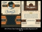 2012 Prime Cuts Colossal Memorabilia Signatures #7