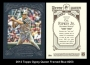 2012 Topps Gypsy Queen Framed Blue #253