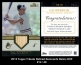 2012 Topps Tribute Retired Remnants Relics #CR