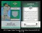 2012 Topps Triple Threads Unity Relics Emerald #UR128