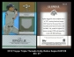 2012 Topps Triple Threads Unity Relics Sepia #UR128