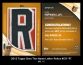 2012 Topps Own The Name Letter Relics #CR R