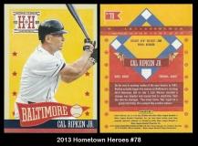 2013 Hometown Heroes #78
