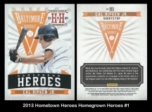 2013 Hometown Heroes Homegrown Heroes #1