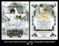 2013 Leaf Sports Heroes Loyalty Autographs Gold #LCRJ