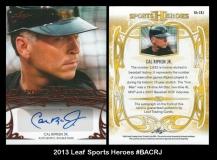 2013 Leaf Sports Heroes #BACRJ