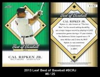 2013 Leaf Best of Baseball #BCRJ