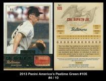 2013 Panini Americas Pastime Green #105