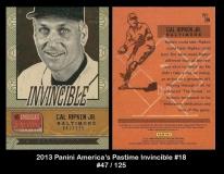 2013 Panini Americas Pastime Invincible #18