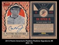 2013 Panini Americas Pastime Pastime Signatures #8