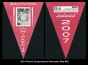 2013 Panini Cooperstown Pennants Red #42