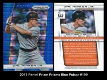 2013 Panini Prizm Prizms Blue Pulsar #199