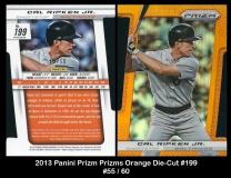 2013 Panini Prizm Prizms Orange Die-Cut #199