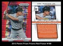 2013 Panini Prizm Prizms Red Pulsar #199