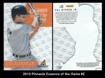 2013 Pinnacle Essence of the Game #2