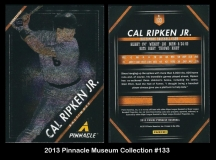 2013 Pinnacle Museum Collection #133