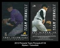2013 Pinnacle Team Pinnacle #11B