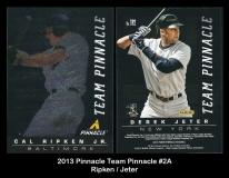 2013 Pinnacle Team Pinnacle #2A