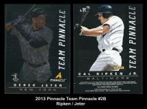 2013 Pinnacle Team Pinnacle #2B