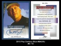 2013 Pop Century Blue #BACRJ