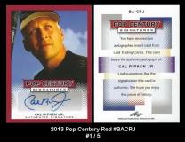 2013 Pop Century Red #BACRJ