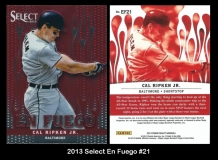 2013 Select En Fuego #21