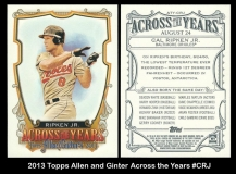 2013 Topps Allen and Ginter Across the Years #CRJ