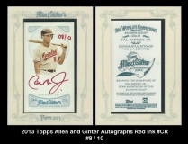 2013 Topps Allen and Ginter Autographs Red Ink #CR