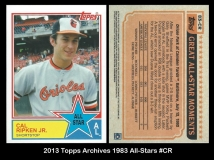 2013 Topps Archives 1983 All-Stars #CR