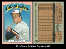 2013 Topps Archives Day Glow #16