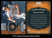 2013 Topps Chasing History #CH4