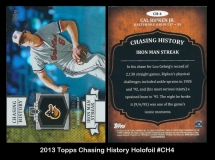 2013 Topps Chasing History Holofoil #CH4