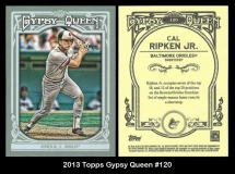 2013 Topps Gypsy Queen #120