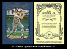 2013 Topps Gypsy Queen Framed Blue #120