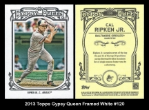 2013 Topps Gypsy Queen Framed White #120