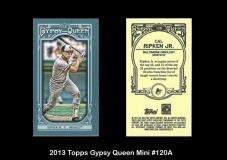2013 Topps Gypsy Queen Mini #120A