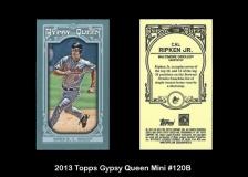 2013 Topps Gypsy Queen Mini #120B