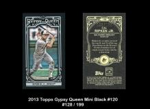 2013 Topps Gypsy Queen Mini Black #120