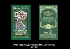 2013 Topps Gypsy Queen Mini Green #120